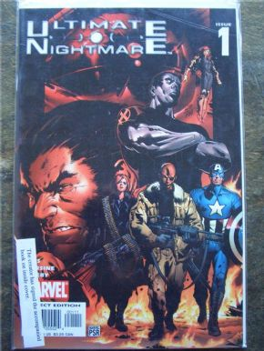 Ultimate Nightmare #1 DF Signed Trevor Hairsine COA Ltd 199